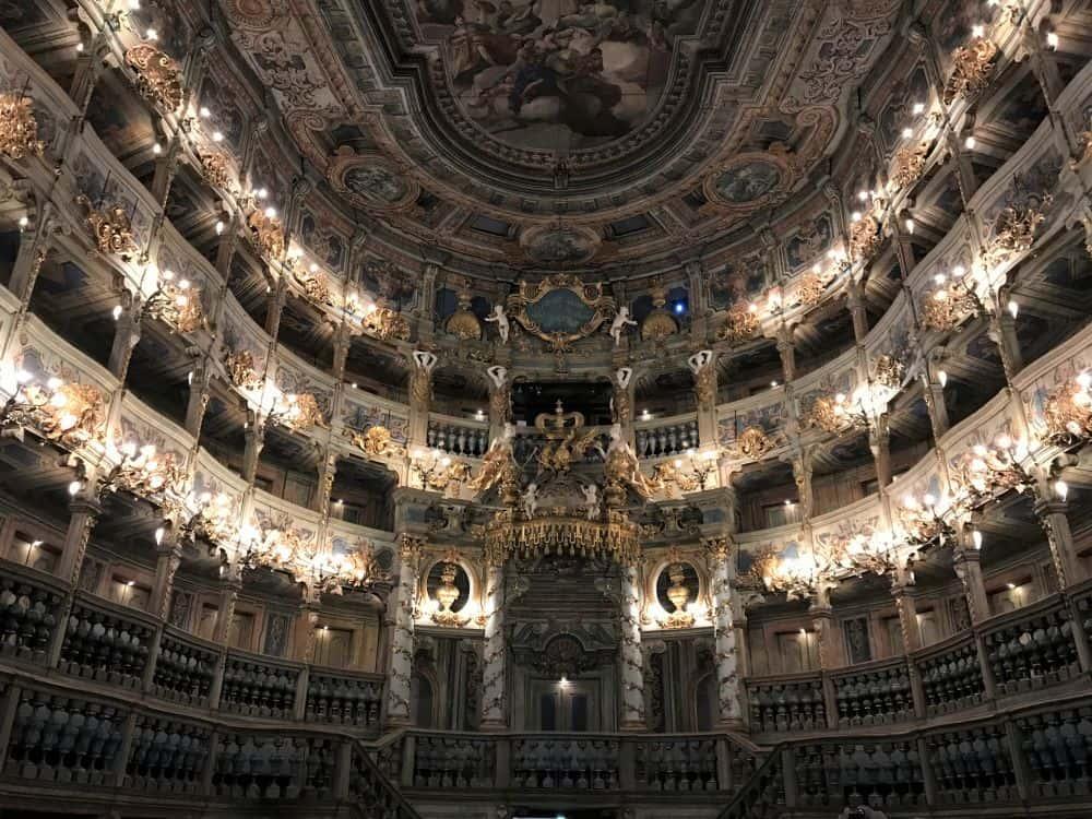 Germany - Bayreuth - Margravial Opera House Bayreuth