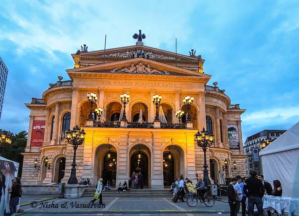 Germany - Frankfurt - Opera
