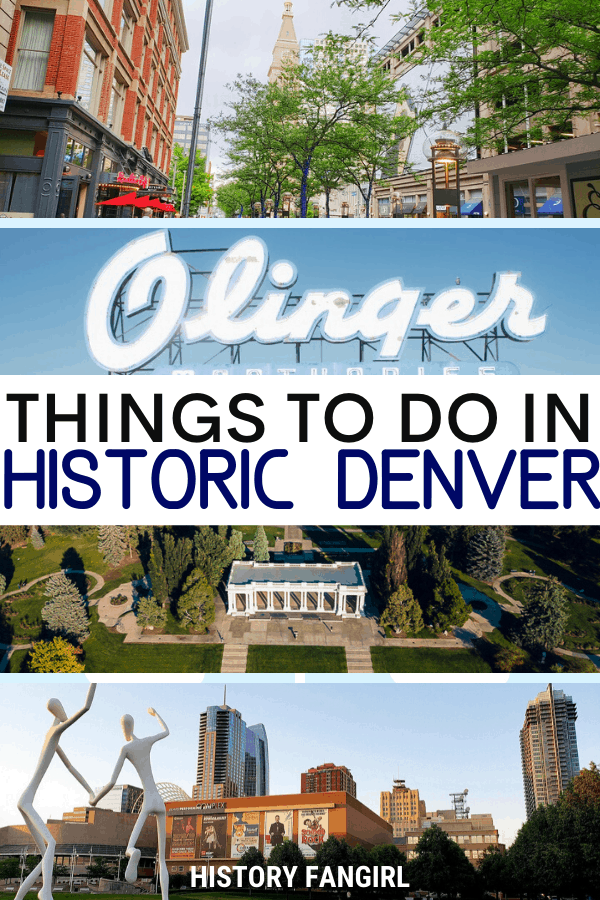 Things to Do in Historic Denver