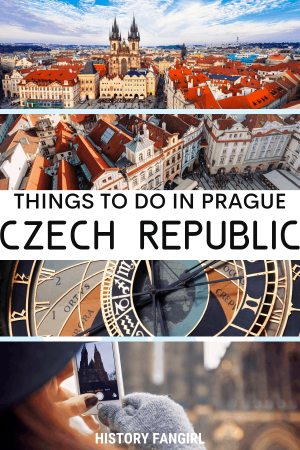 Things to Do in Prague the the Historic Center of Prague UNESCO World Heritage Site