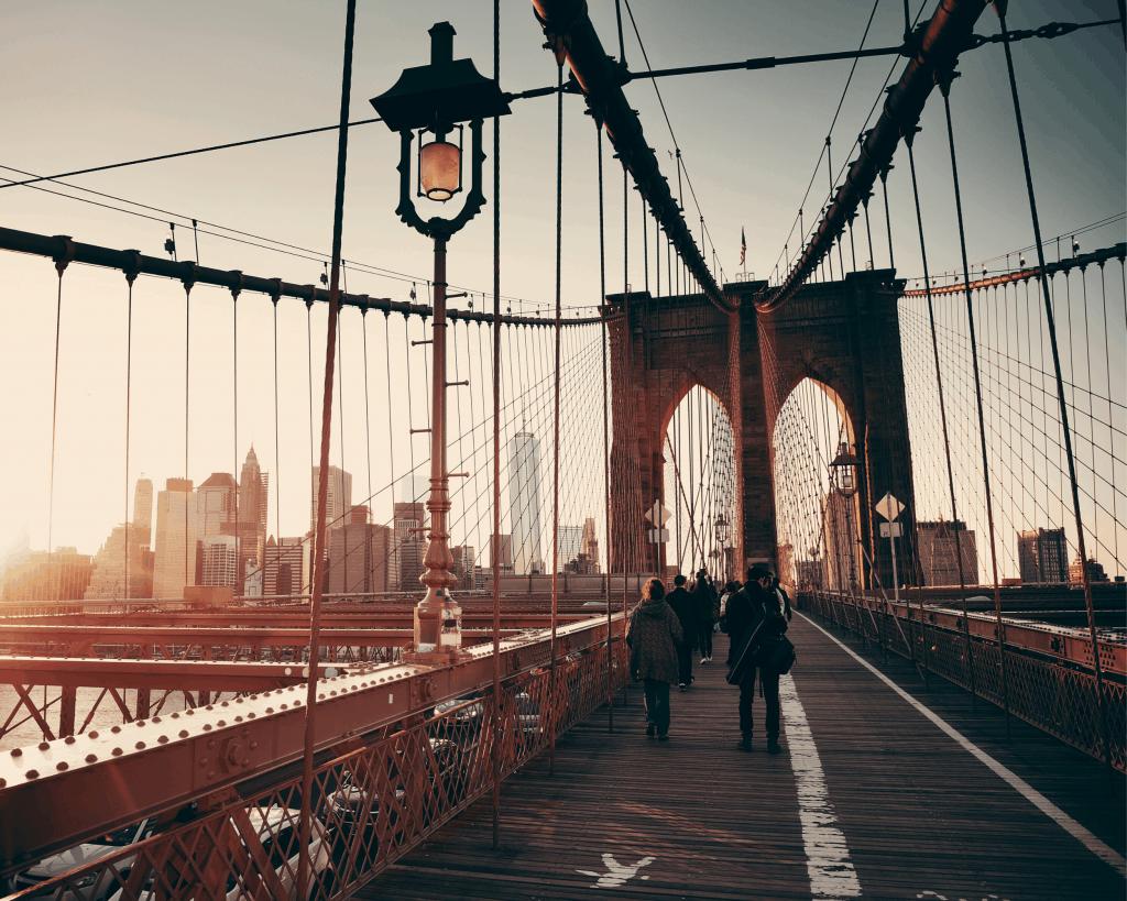 USA - New York - Brooklyn Bridge