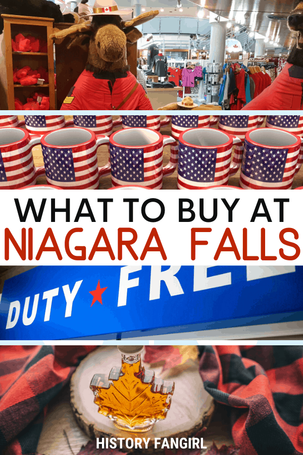 What to Buy in Niagara Falls Souvenirs and Gifts