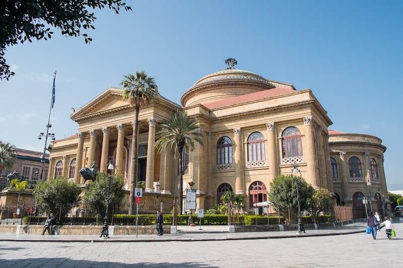 Italy - Palermo - Teatro Massimo - Opera in Europe Collab