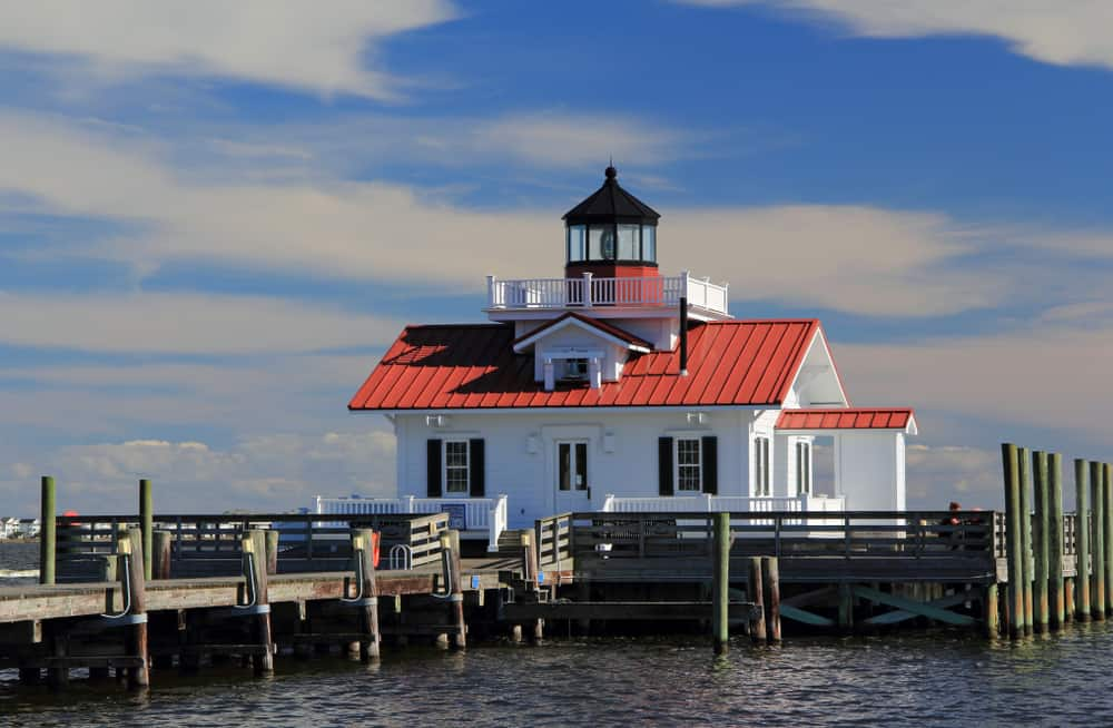 USA - North Carolina - Roanoke Marshes Lighthouse in Manteo, North Carolina
