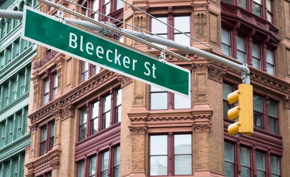 USA - New York - Bleeker Street Sign