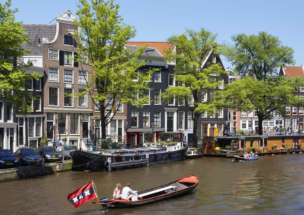 Along the canals, Amsterdam, Holland
