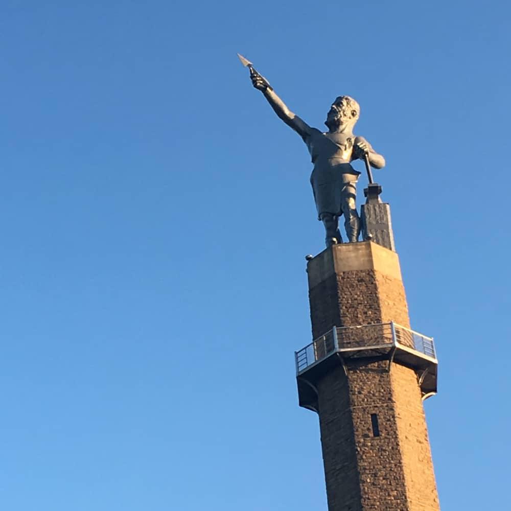 United States - Alabama - Birmingham - Vulcan statue at Vulcan park
