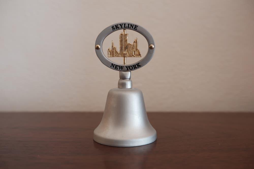 USA - New York - Travel souvenir, bell, New York