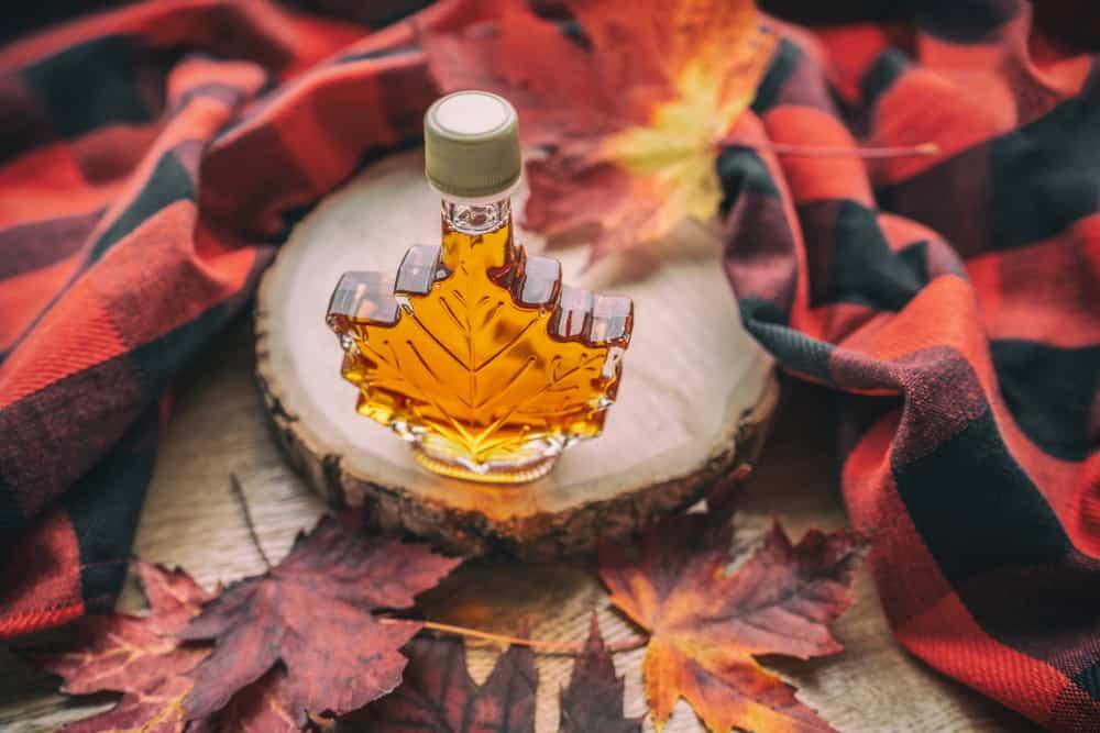 Canada - Maple Syrup Maple Leaf Bottle Souvenir