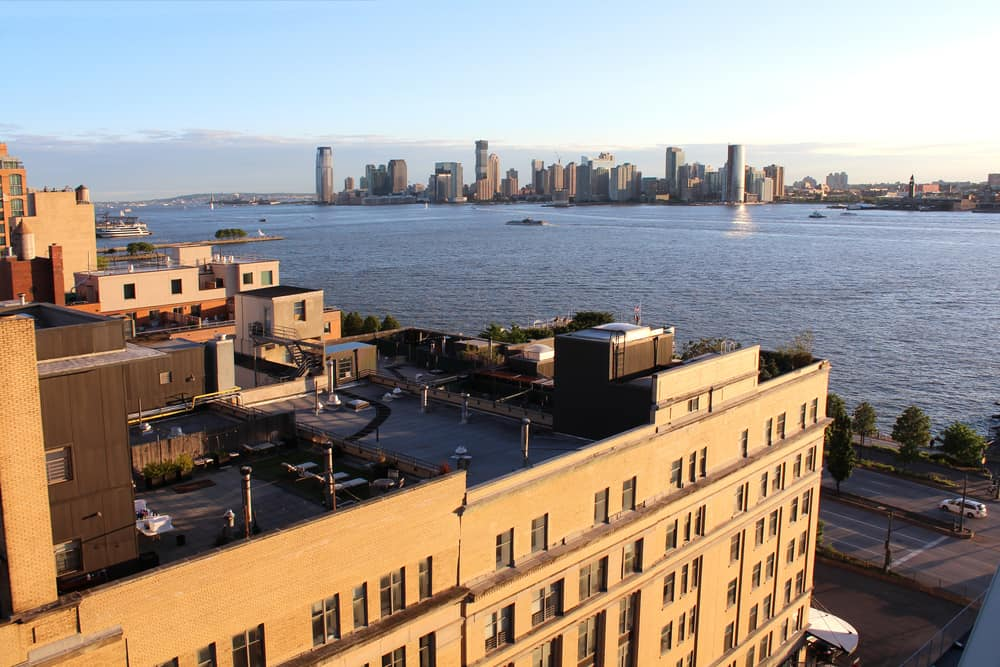 New York City from the Whitney Museum