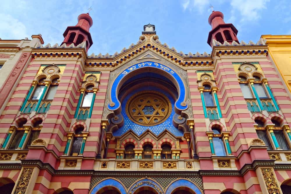 Jubilee Synagogue (Jerusalem Synagogue) in Prague, Czech Republic