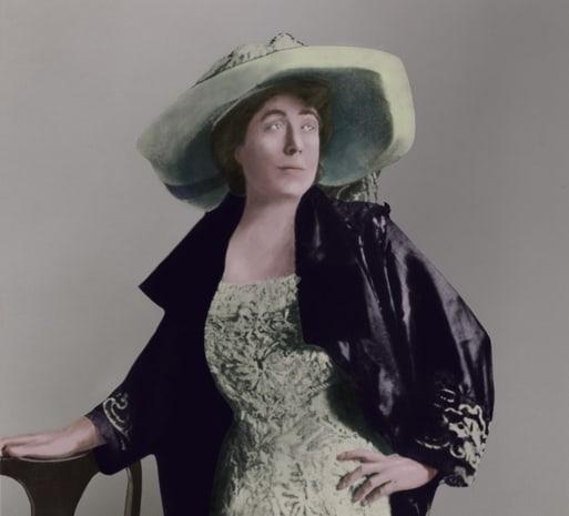 Colorado - Denver - Denver Colorado socialite and woman's suffragist Margaret 'Molly' Brown 1867-1932 ca.1900.