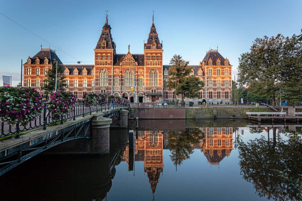 The Rijksmuseum is a Netherlands national museum dedicated to arts and history in Amsterdam. The museum is located at the Museum Square in the borough Amsterdam South, close to the Van Gogh Museum.