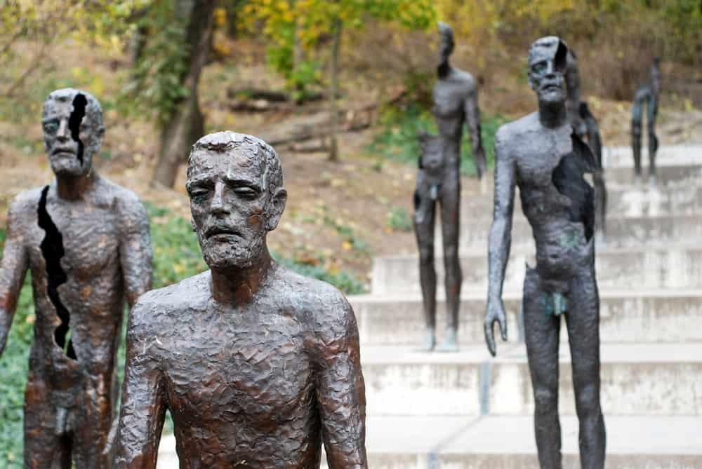 Memorial monument victims of communism in Prague