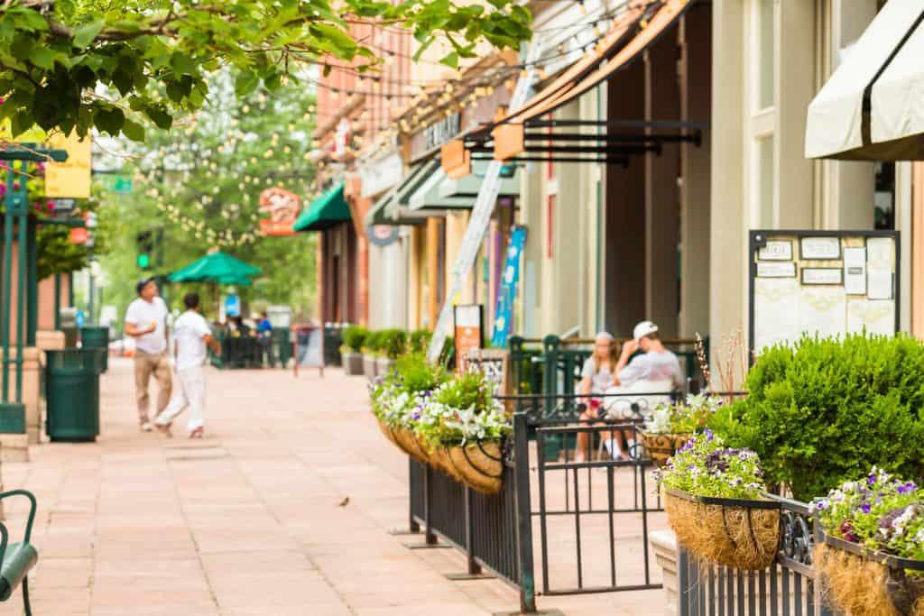 USA - Colorado - Denver - Historical Larimer Squarre in the Summer.