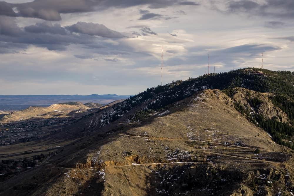 USA - Denver - Lookout Mountain is in Golden, Colorado.