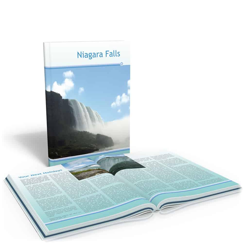 USA - Canada - Book about Niagara Falls Souvenir
