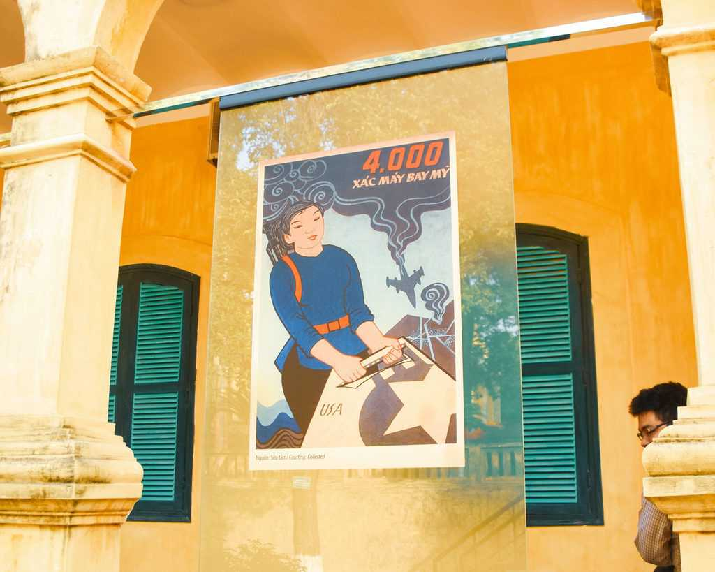 Vietnam Propaganda Poster