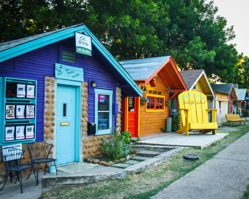 USA - Oklahoa - the historic town of Medicine Park
