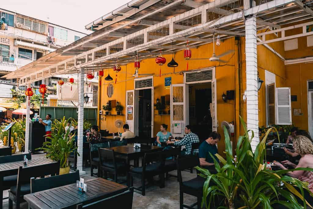 Cambodia - Phnom Penh - Friends Restaurant