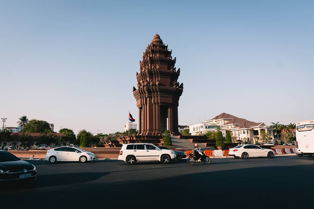 Cambodia - Phnom Penh - Independence Monument