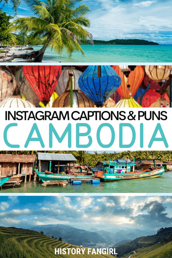Jokes about Cambodia Puns