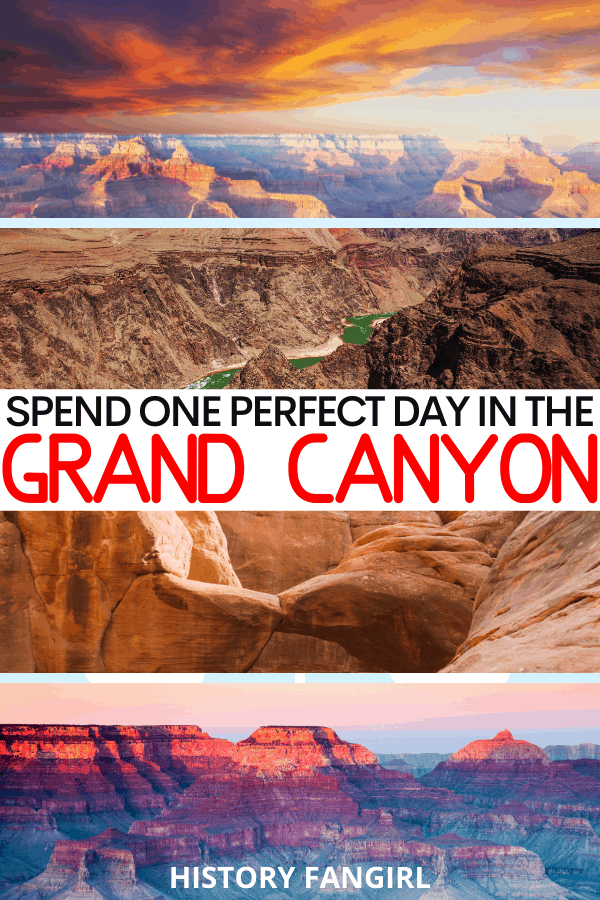 One Day in the Grand Canyon Itinerary