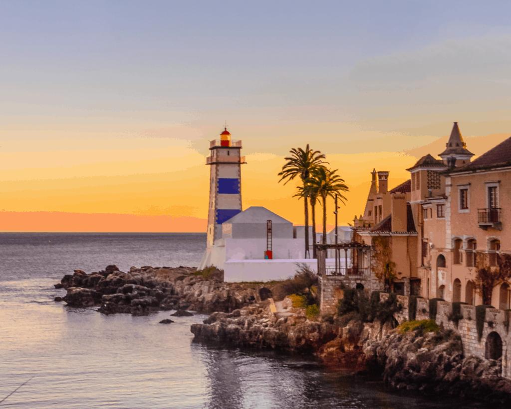 Portugal - Santa Maria Lighthouse