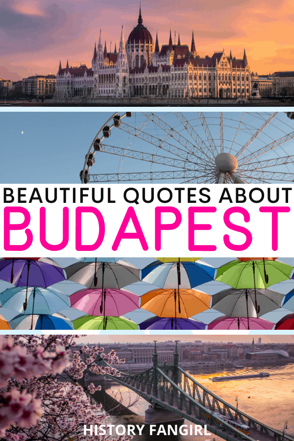 Quotes about Budapest