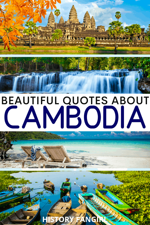 Quotes about Cambodia