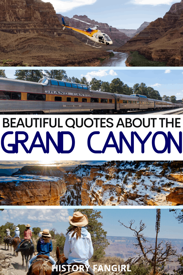 Quotes about the Grand Canyon