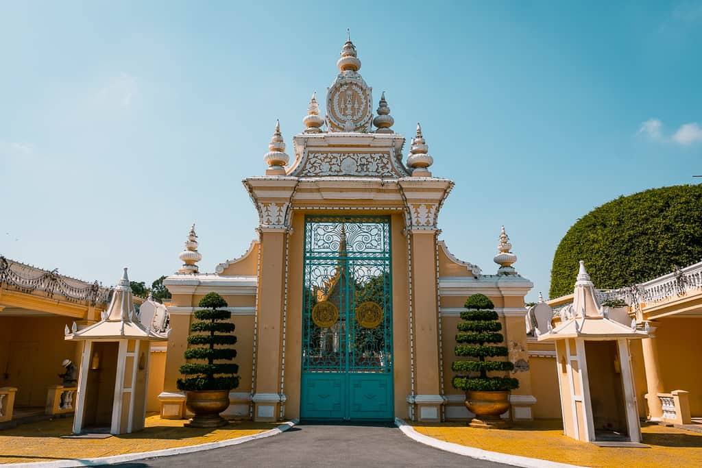 Cambodia - Phnom Penh - Royal Palace