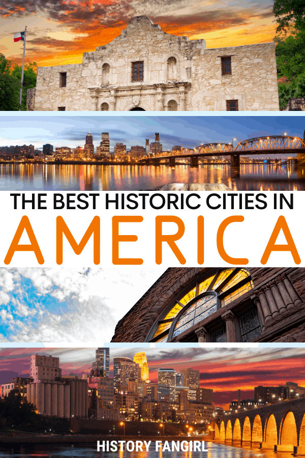 The Best Historic Cities in the US