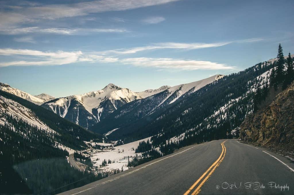 USA-Colorado-Million Dollar Highway