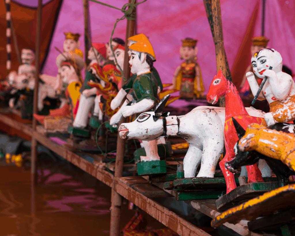 Vietnam Souvenirs Puppets