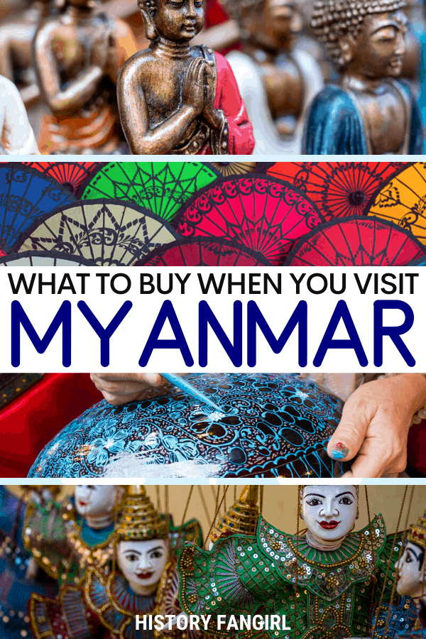 What to Buy in Myanmar Souvenirs