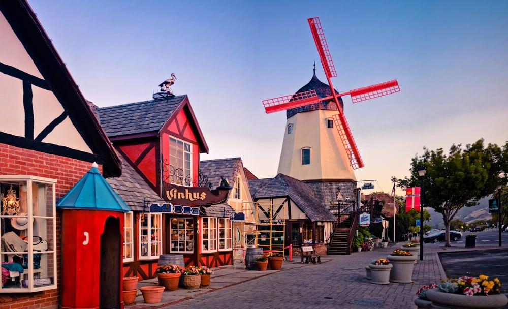 USA - California - Solvang - Dutch Street