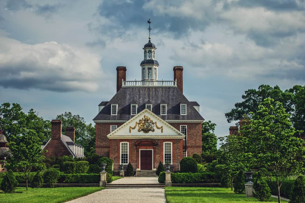 The Governors Palace, Williamsburg, Virginia