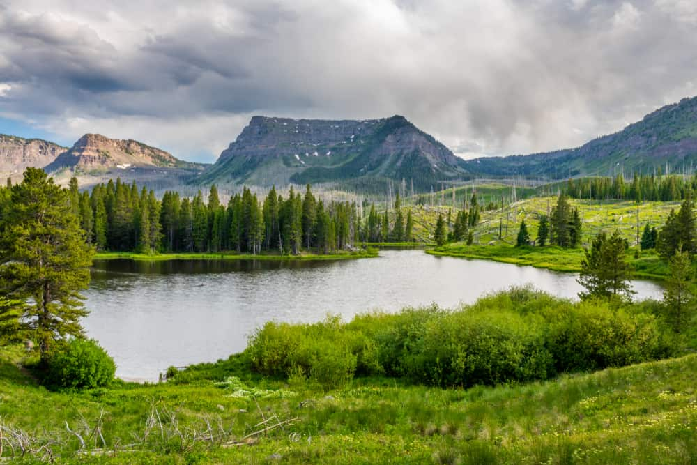 USA - Colorado - Trappers Lake Colorado Flat Tops Trail Scenic Byway