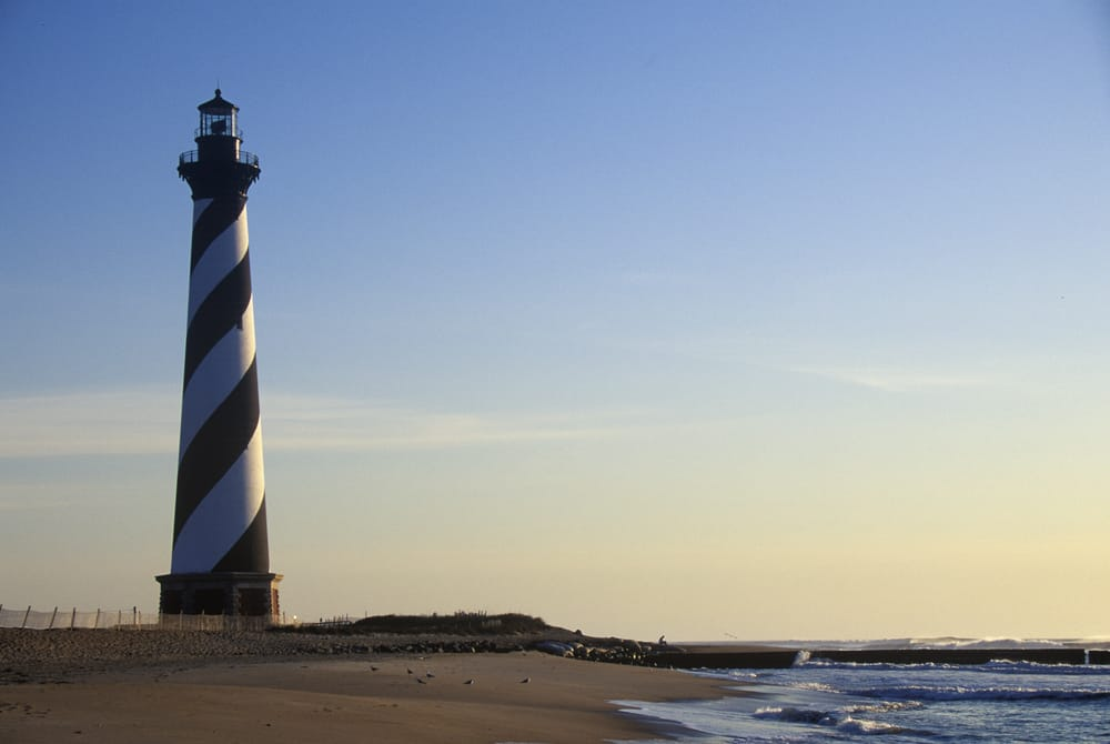 USA - Buxton - Cape Hatteras Lighthouse at Cape Hatteras National Seashore, NC