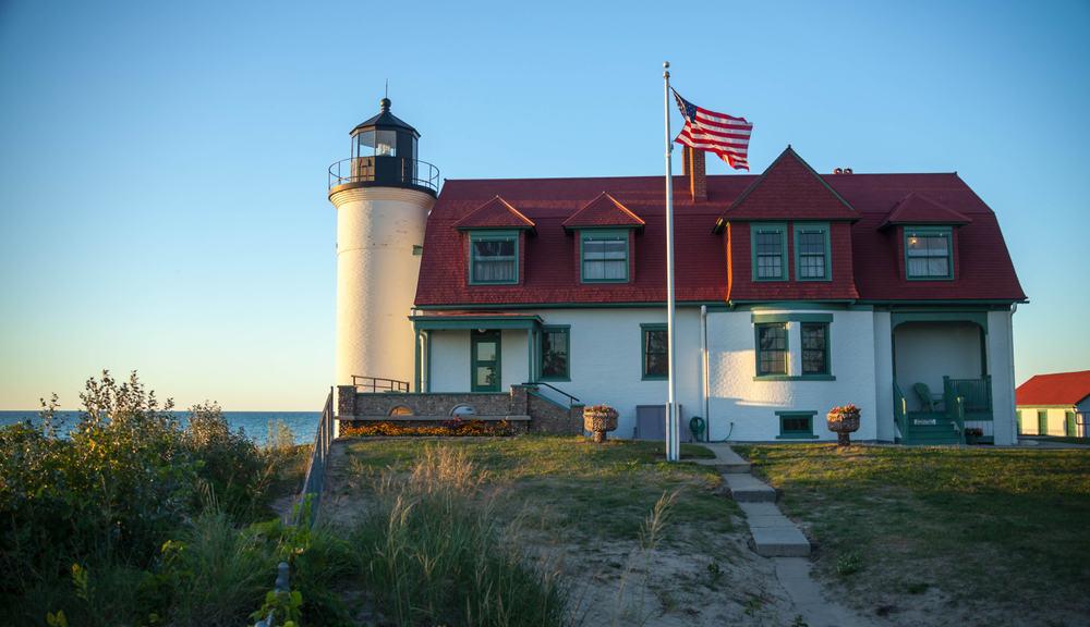 Point Betsie Lighthouse Traverse City Michigan