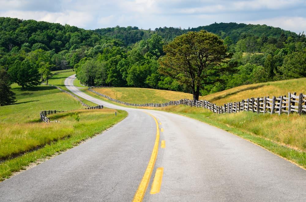 USA - Virginia - Blue Ridge Parkway
