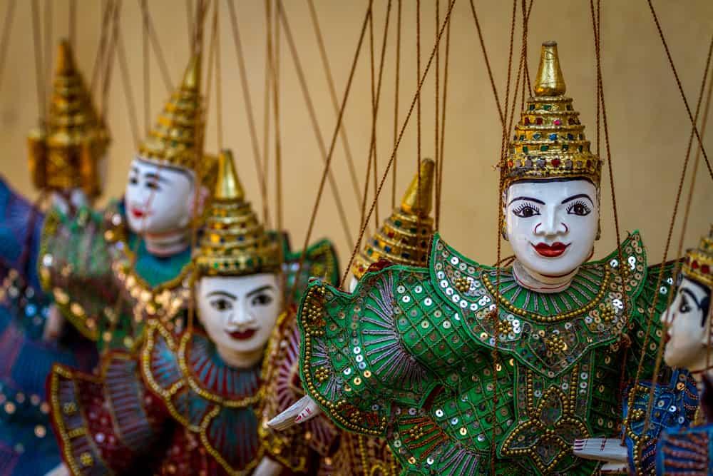 PUPPET DOLL, MYANMAR