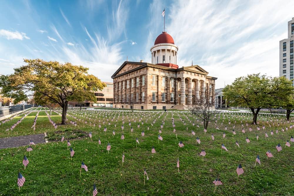 USA - Illinois - Old State Capitol in Springfield, Illinois