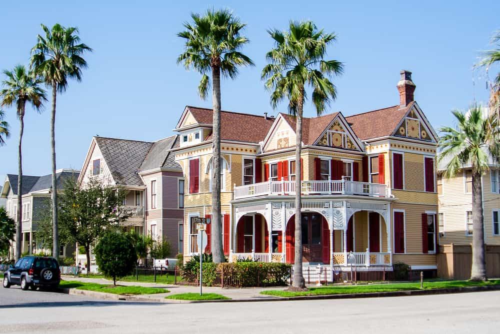 USA - Texas - Historic Homes in Galveston