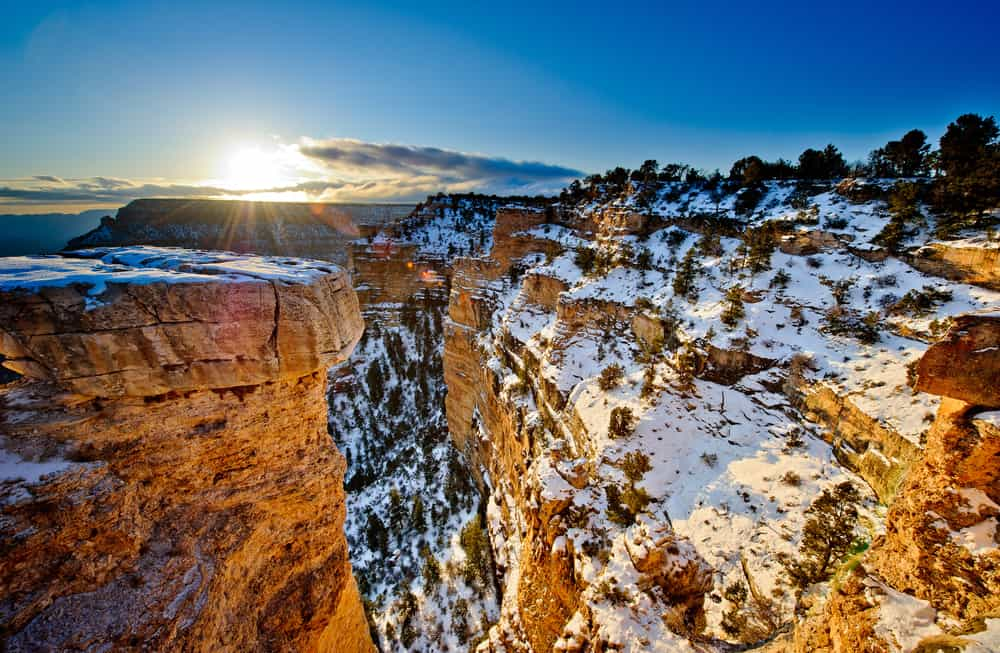 USA - Arizona - Grand Canyon at sunrise