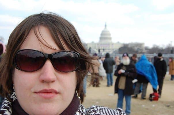 Washington DC- Going to a Presidential Inauguration