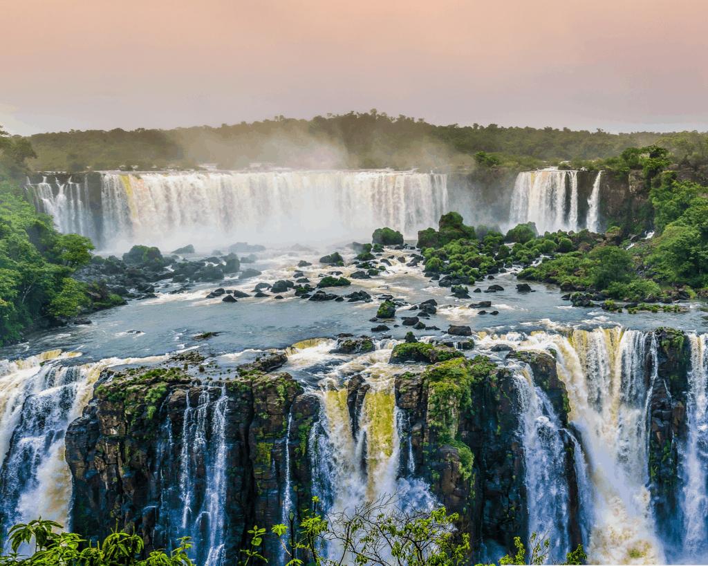 Brazil - Waterfall - Canva