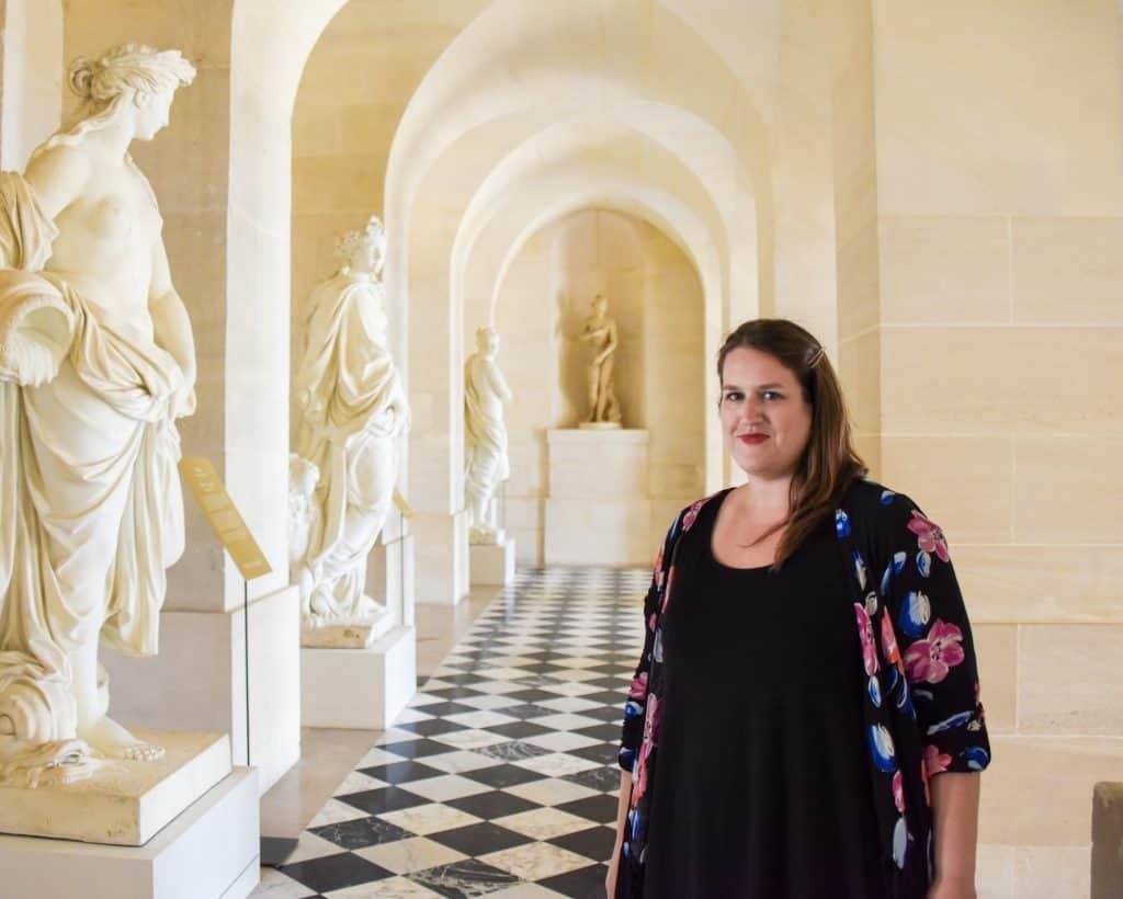 France - Paris - Versailles - Stephanie