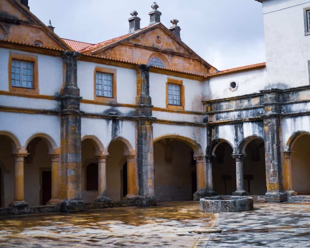 Portugal - Convent of Christ Tomar - Courtyard